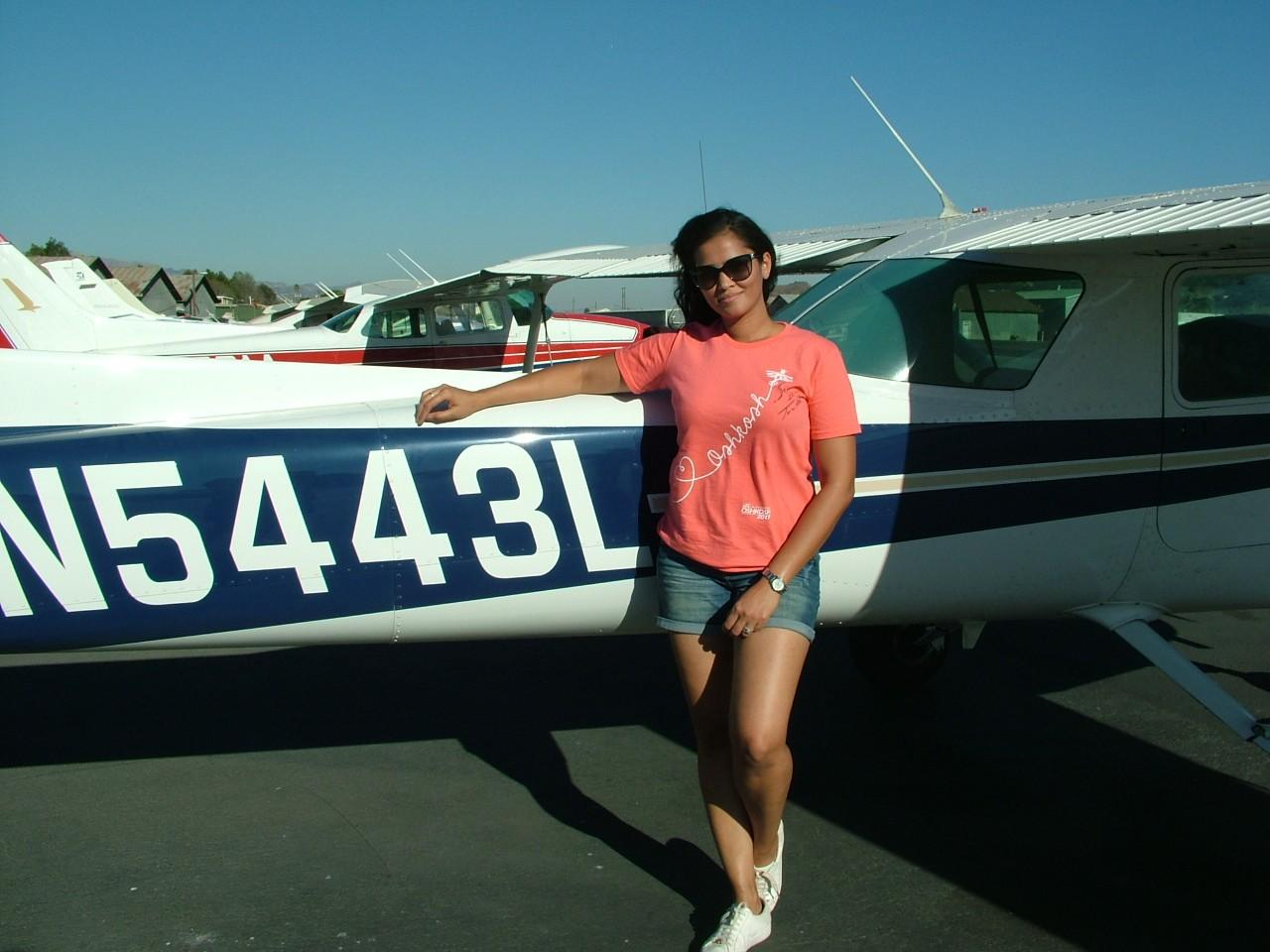 First Solo - Ruth Charlesworth!