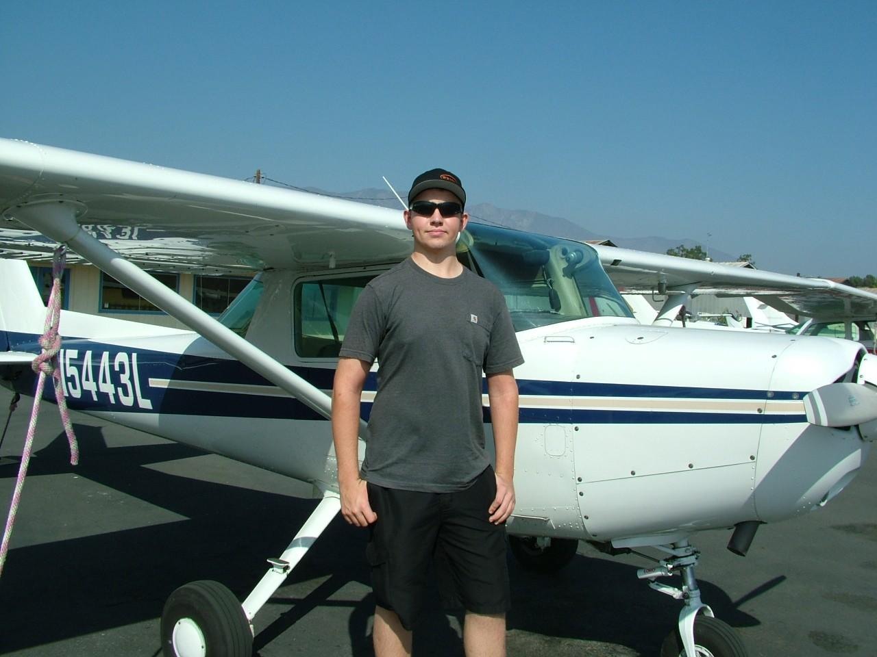Happy 17th Birthday and Private Pilot - Ryan Lindsay!