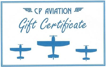 Gift Certificate sm