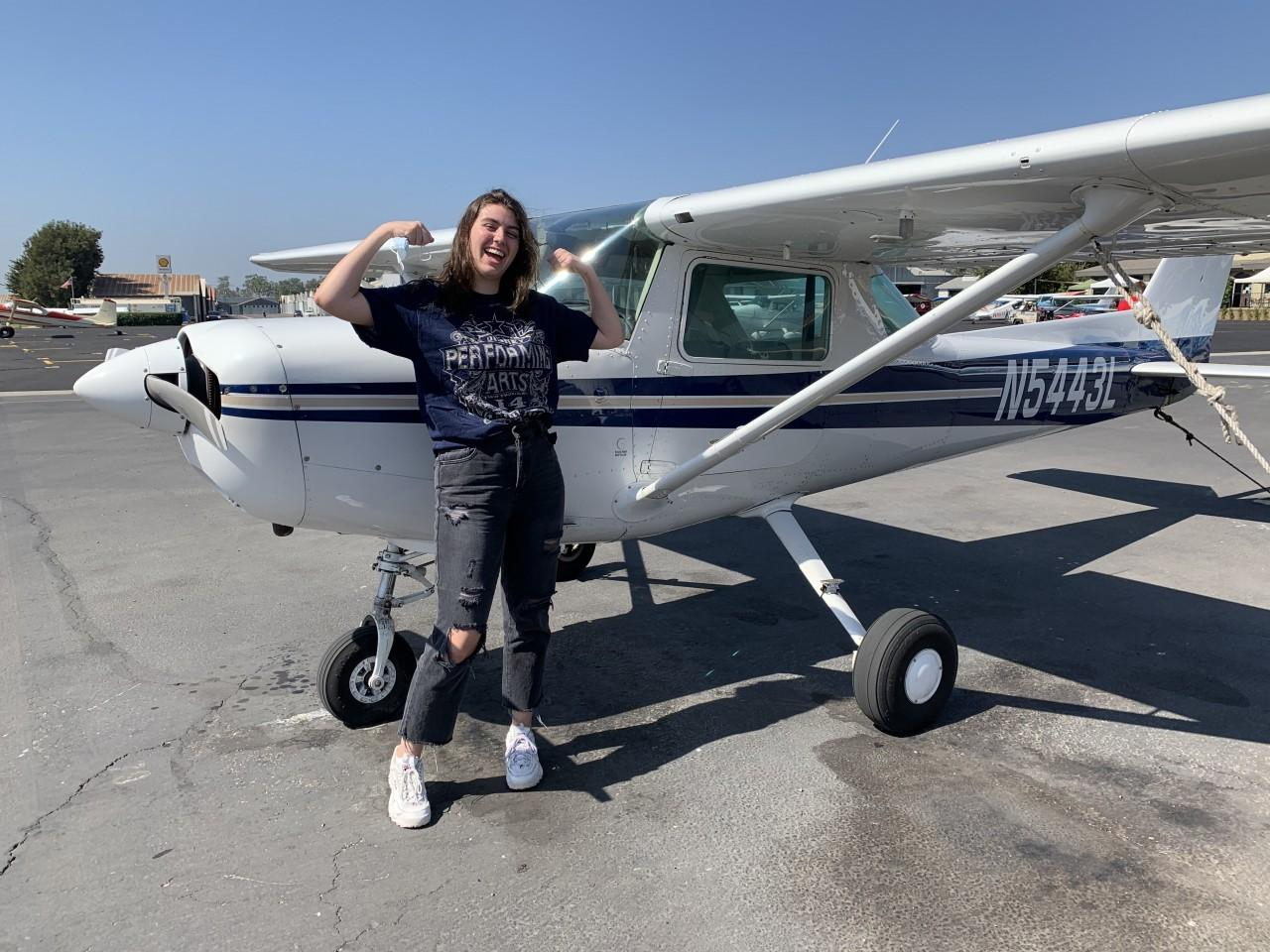 First Solo - Taylor Via!