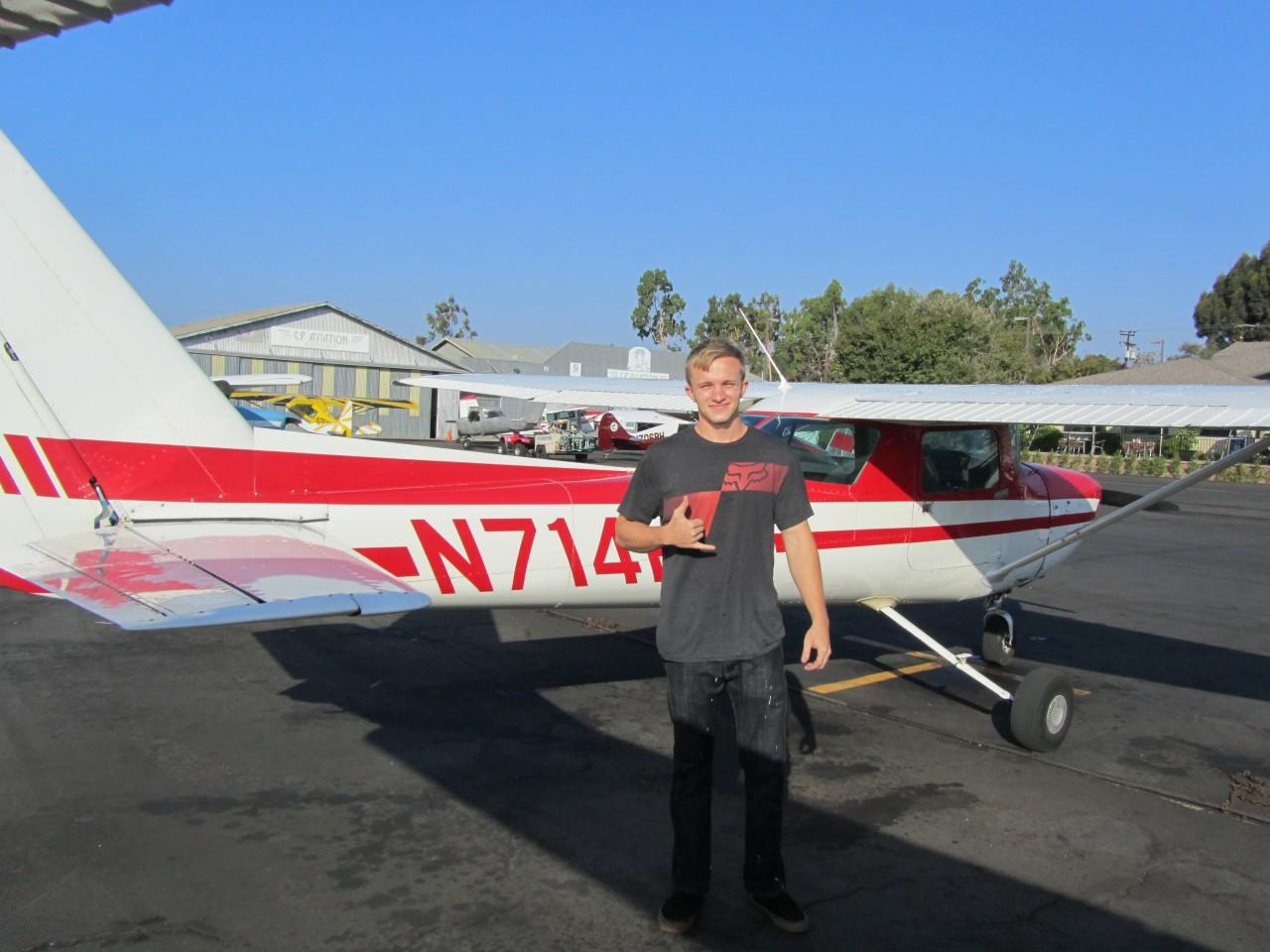 First Solo - Noah White