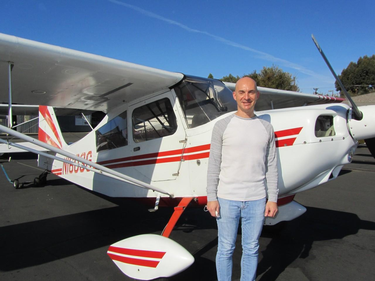 Tailwheel Endorsement - Jeff Howard
