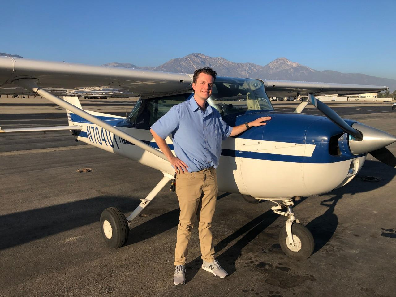 Certified Flight Instructor - Luke Moran!