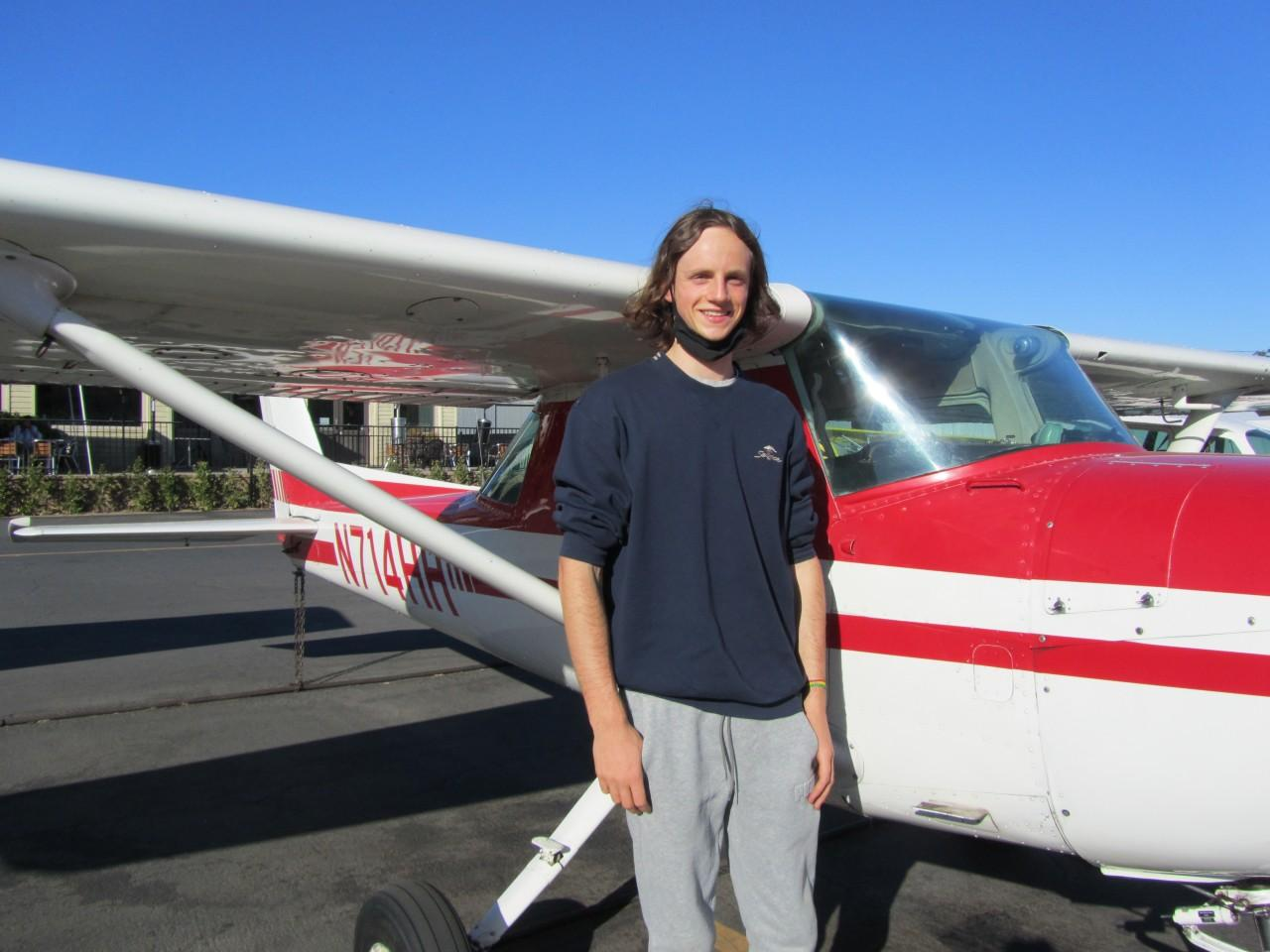 Robert Leavitt - First Solo!