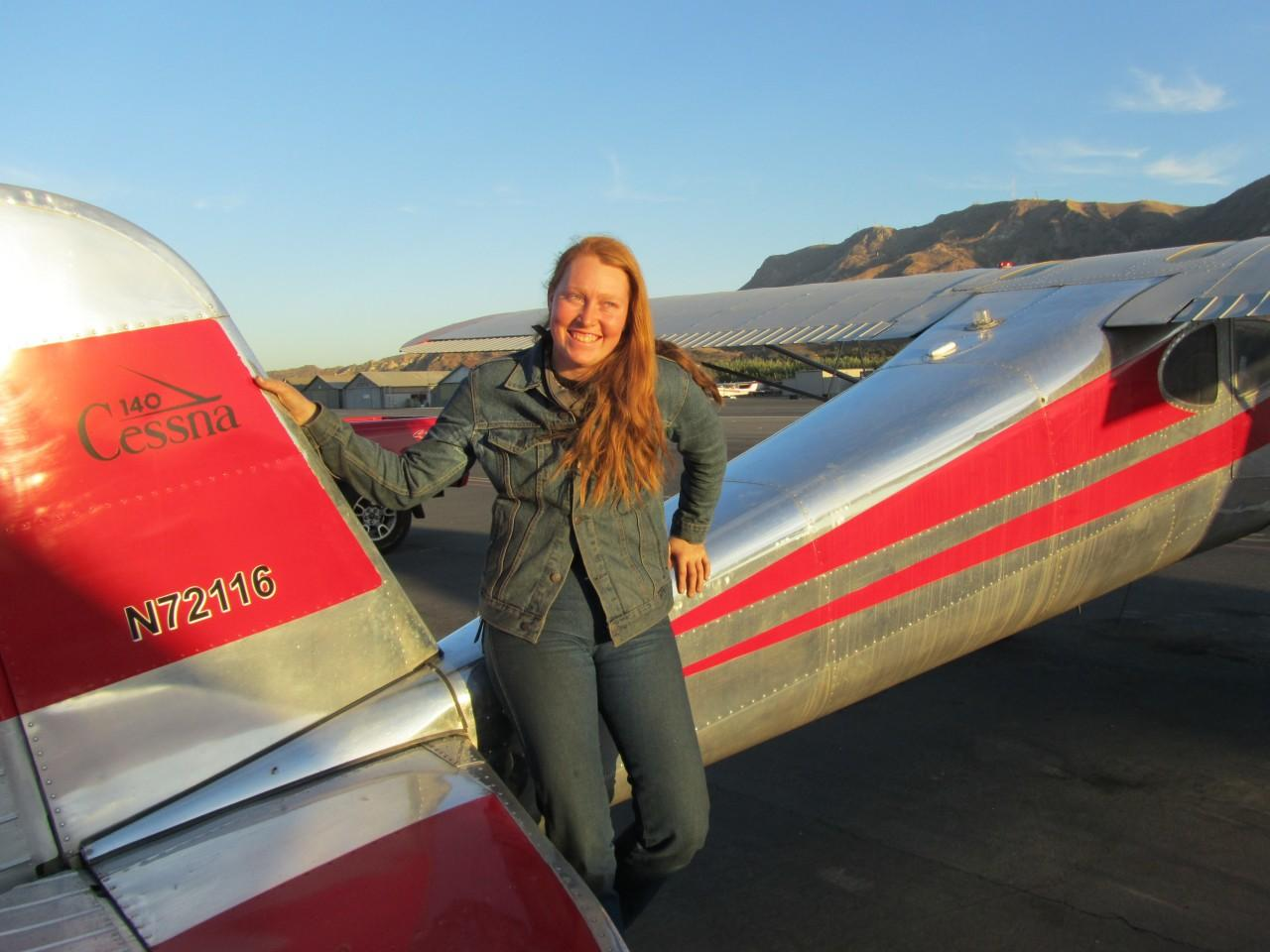 Instrument Rating - Greta Liebeler!