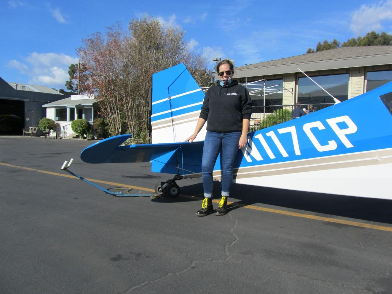 Tailwheel Endorsement - Jennifer Walinowicz!