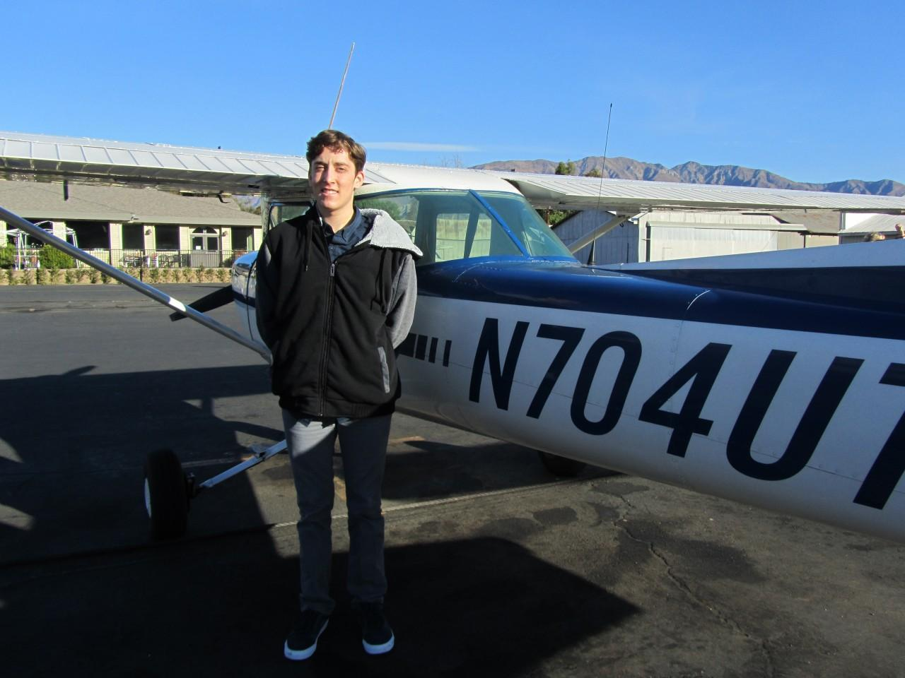 Happy 16th Birthday - Colin Vecchio - First Solo!