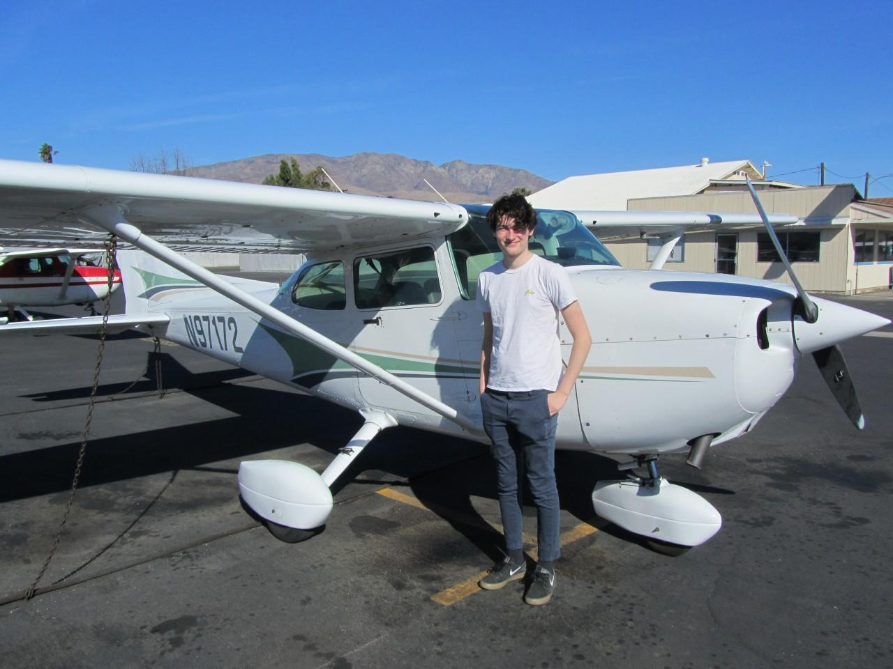 Private Pilot - Logan Uhlig!