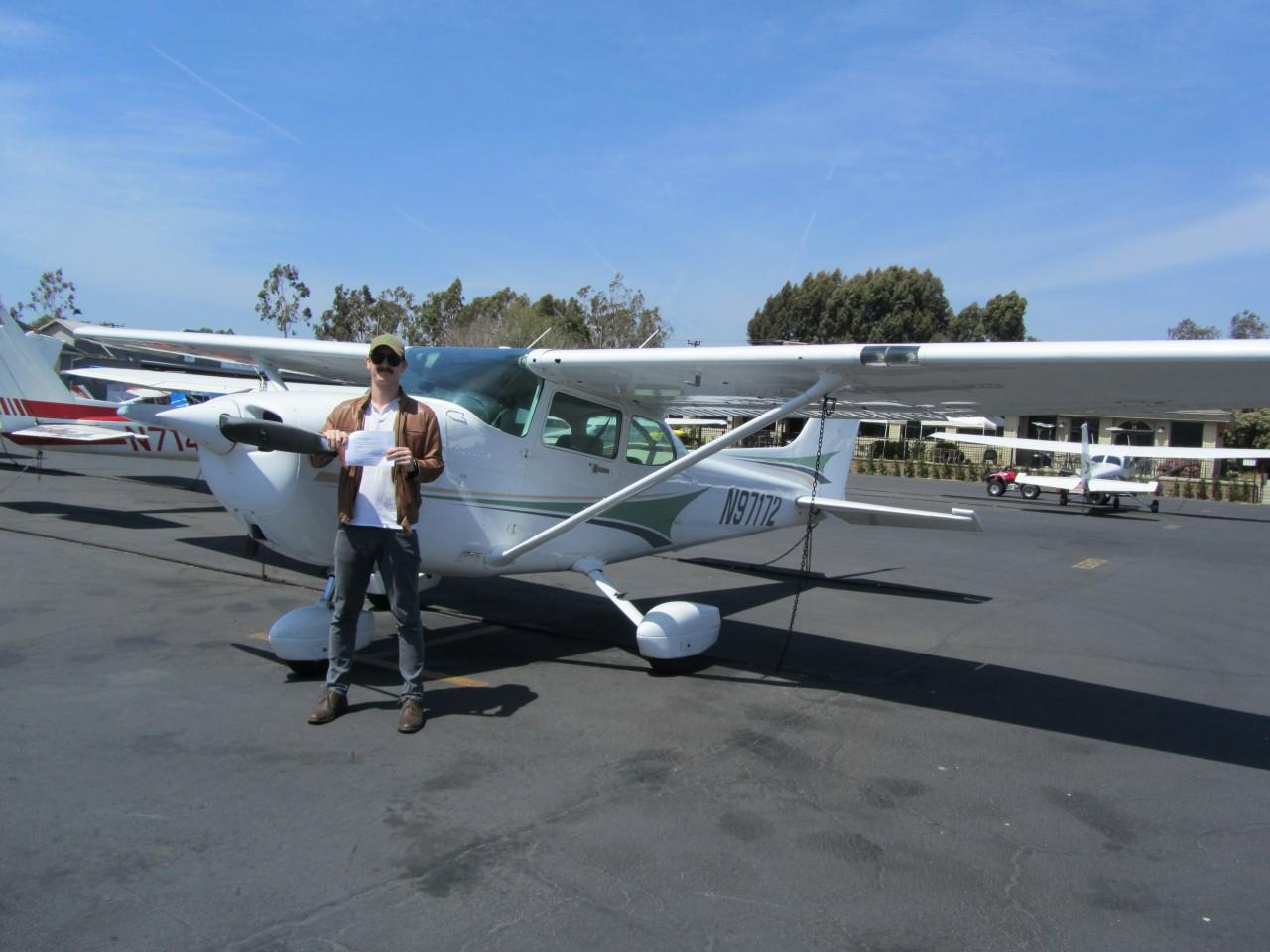 Private Pilot - Garett Ross!