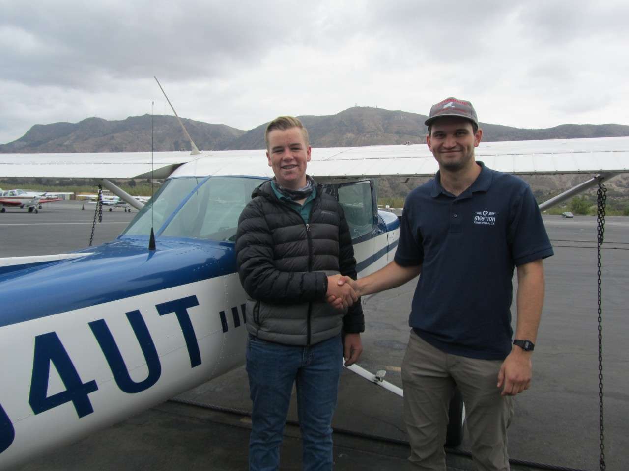 First Solo - Patrick Daly!