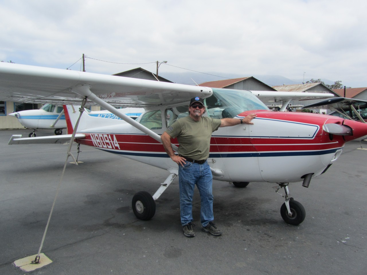 First Solo - Ron Ryan!