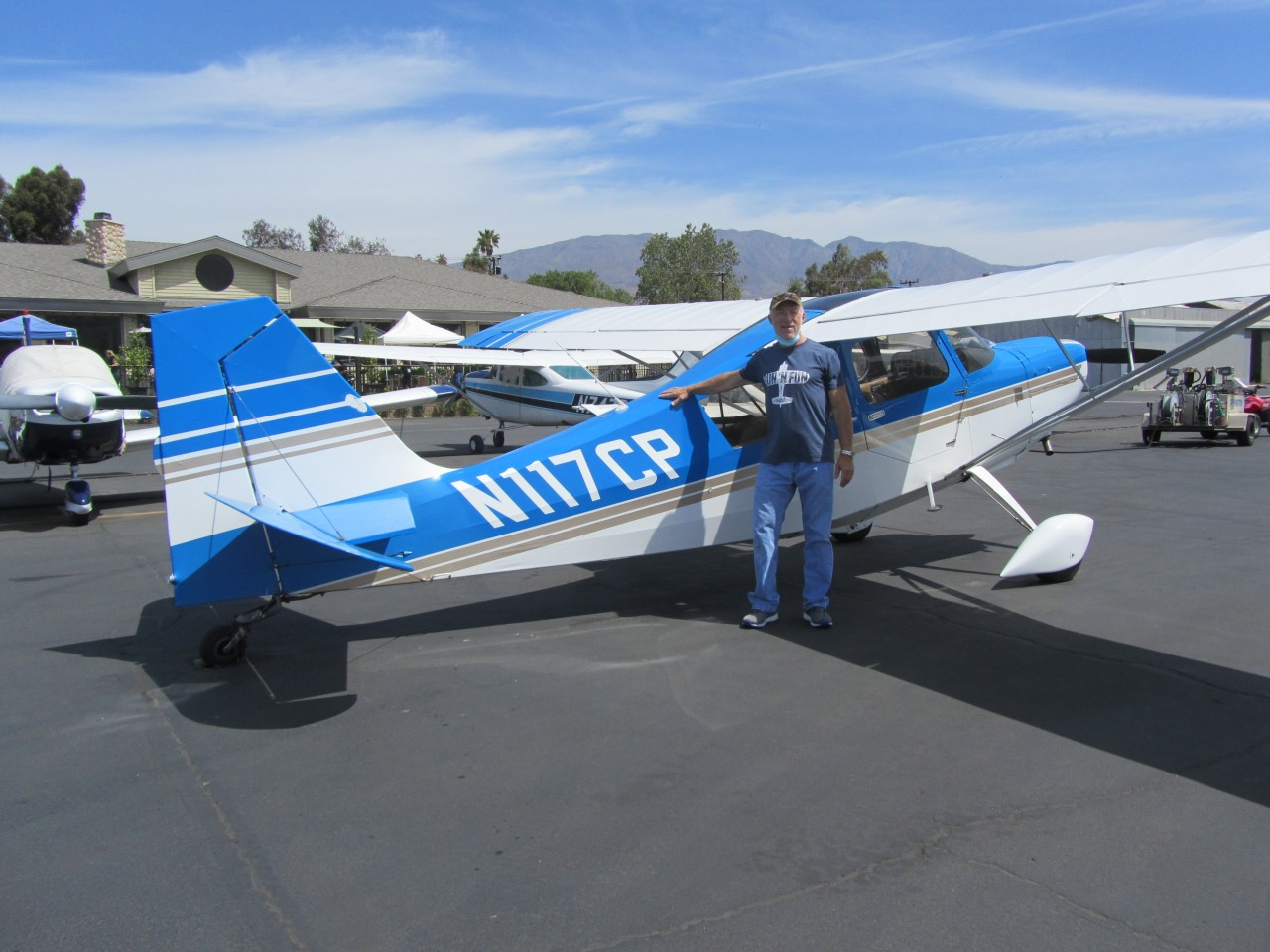Tailwheel Endorsement - Tom Trotter