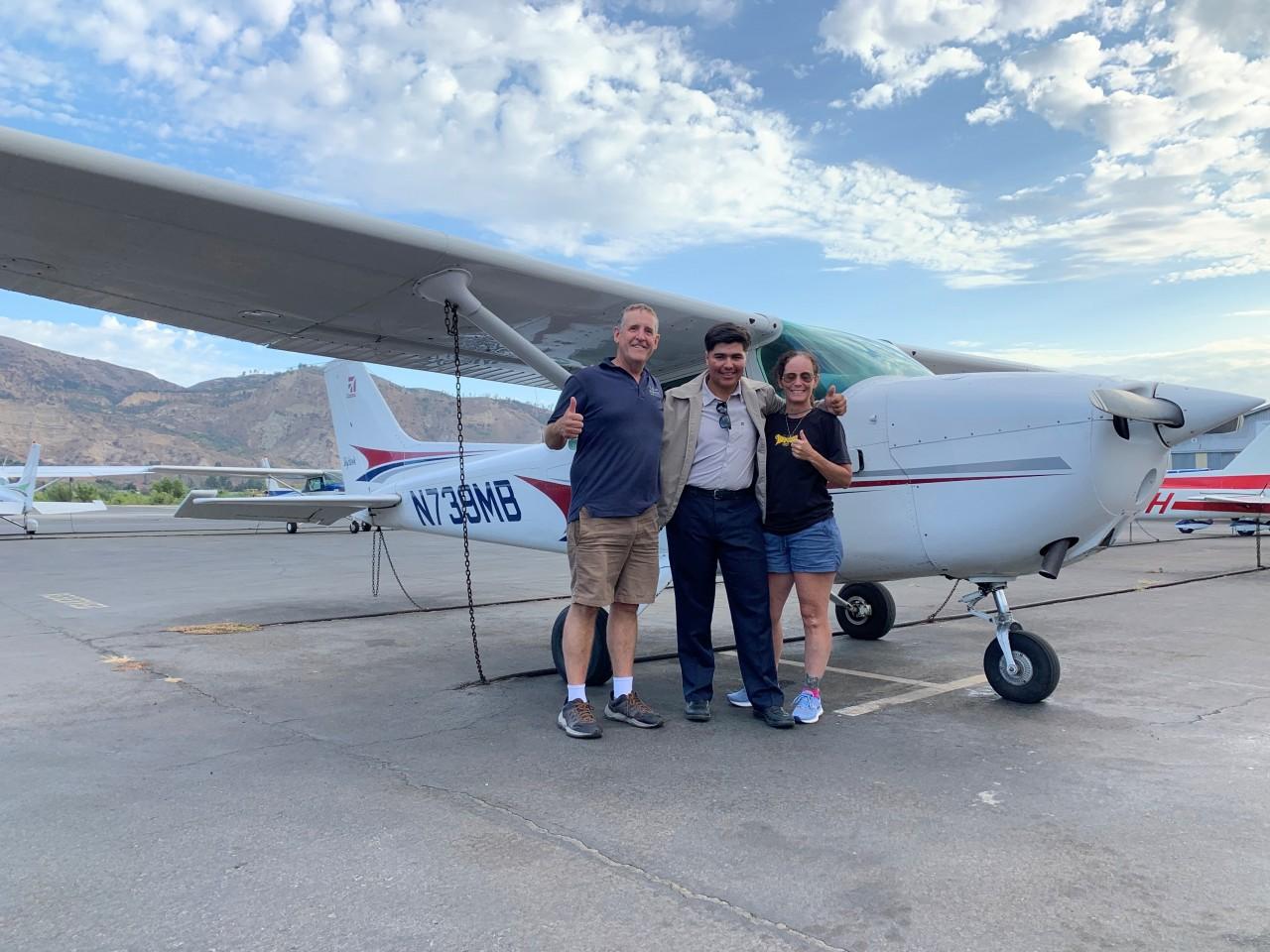 Private Pilot - Carlos Hernandez