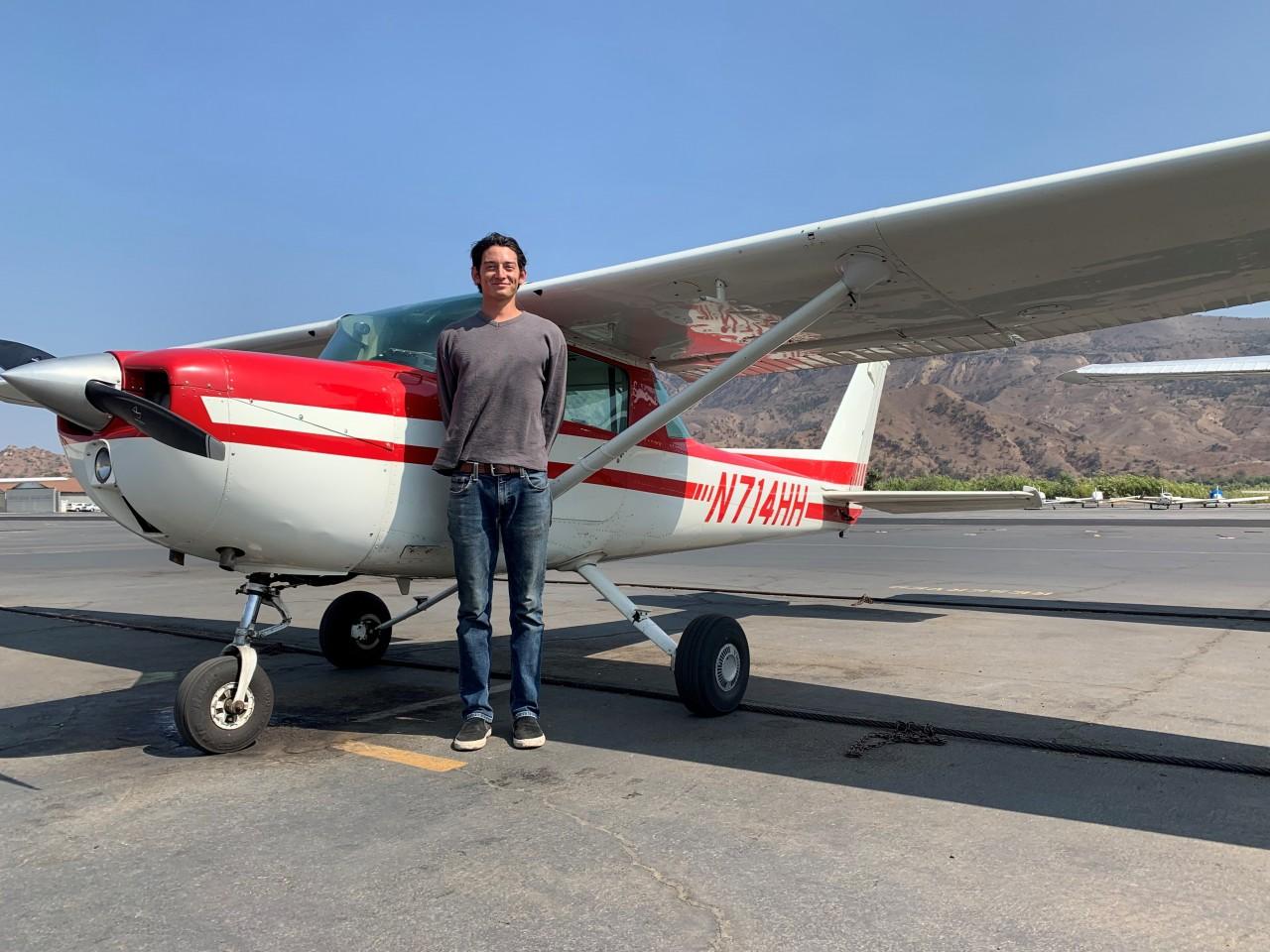 Private Pilot - Taj Yanez!