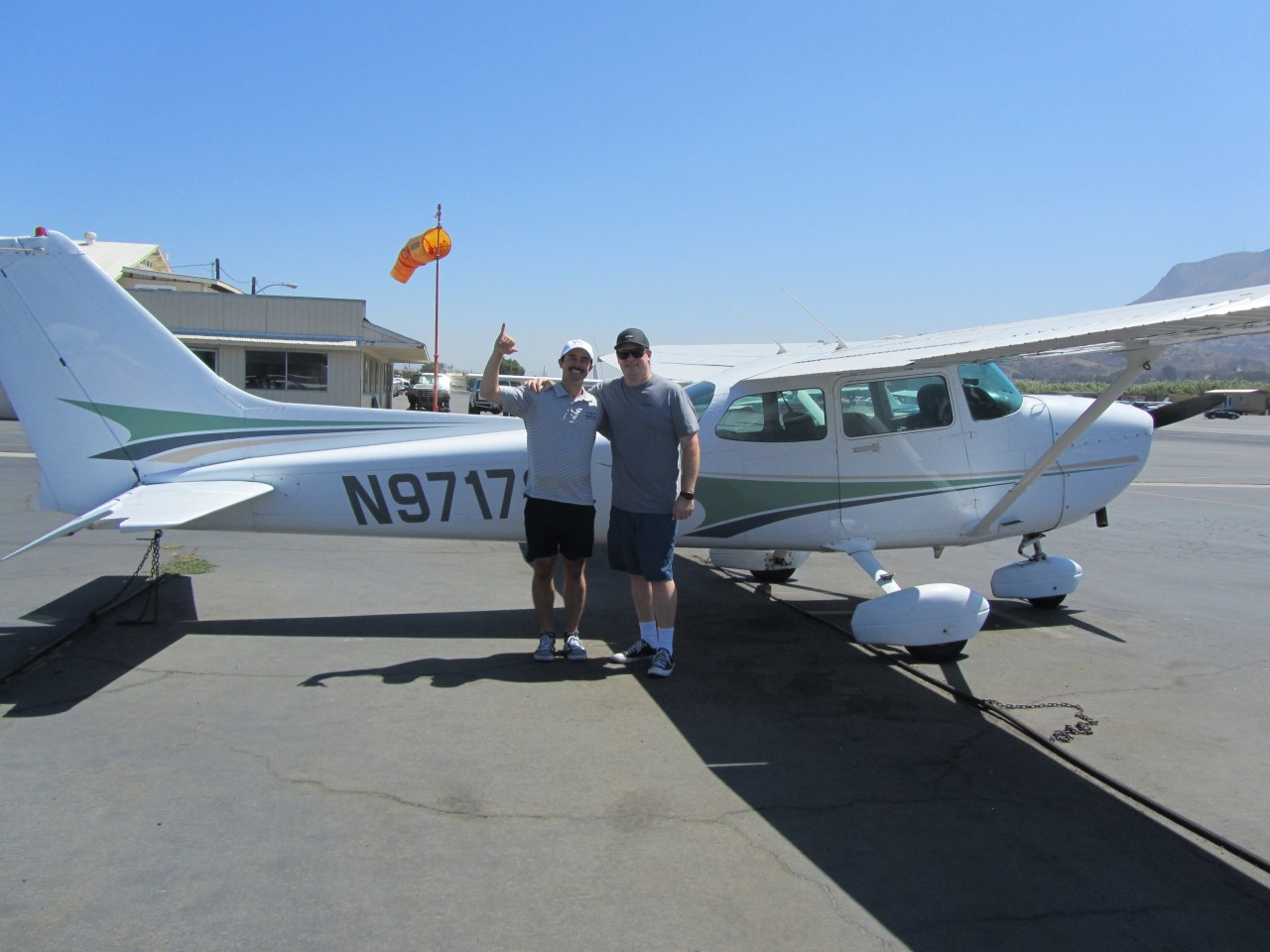 First Solo - Michael Cushing!