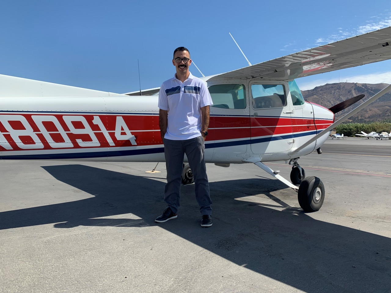 Commercial Pilot - Marco Marin!