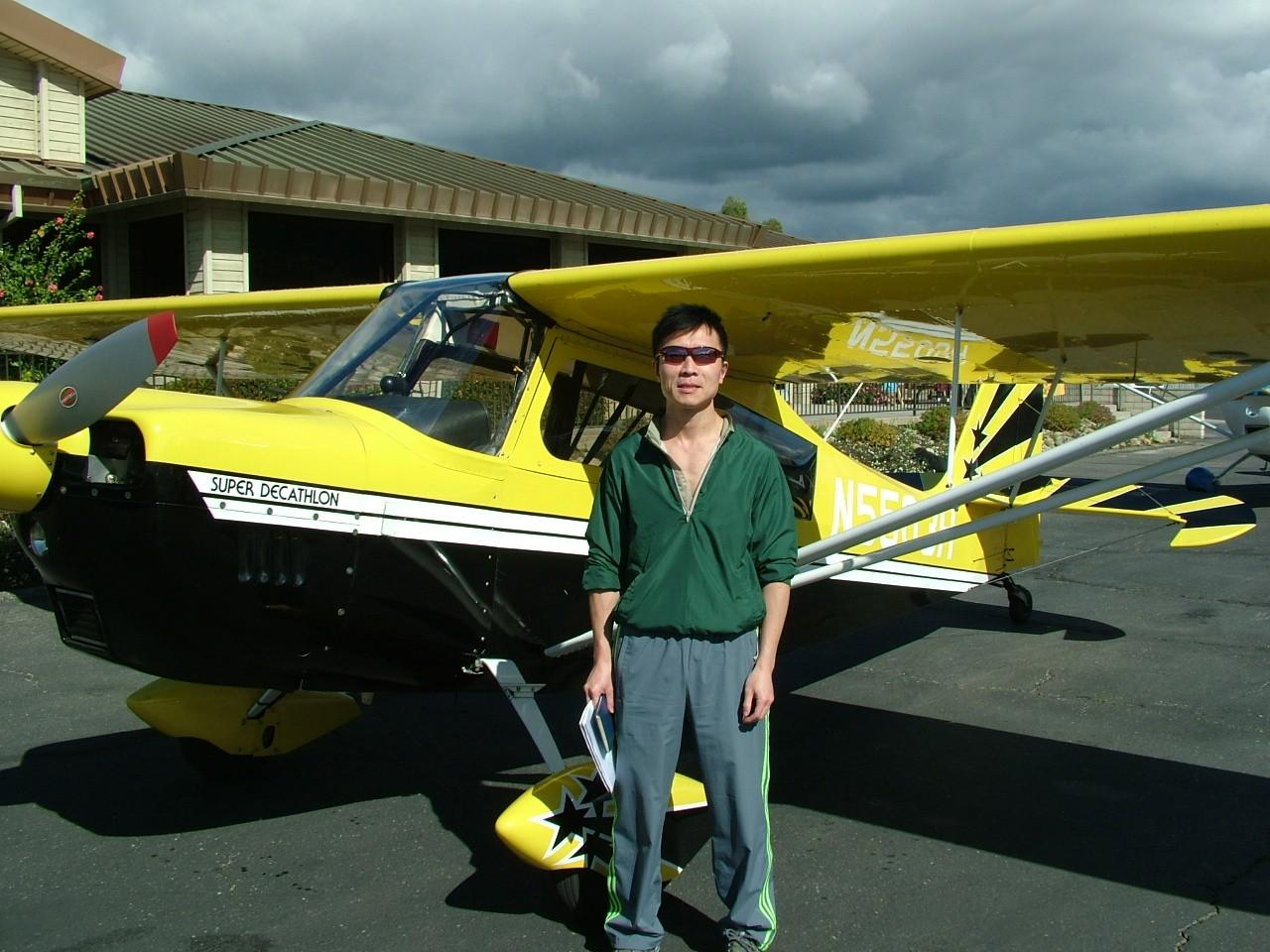 Emergency Maneuver Training and Tailwheel Endorsement - Sonny Young