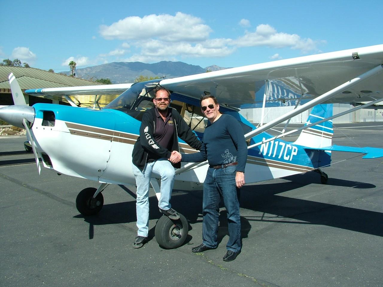 Tailwheel Endorsement - Peter Rossi