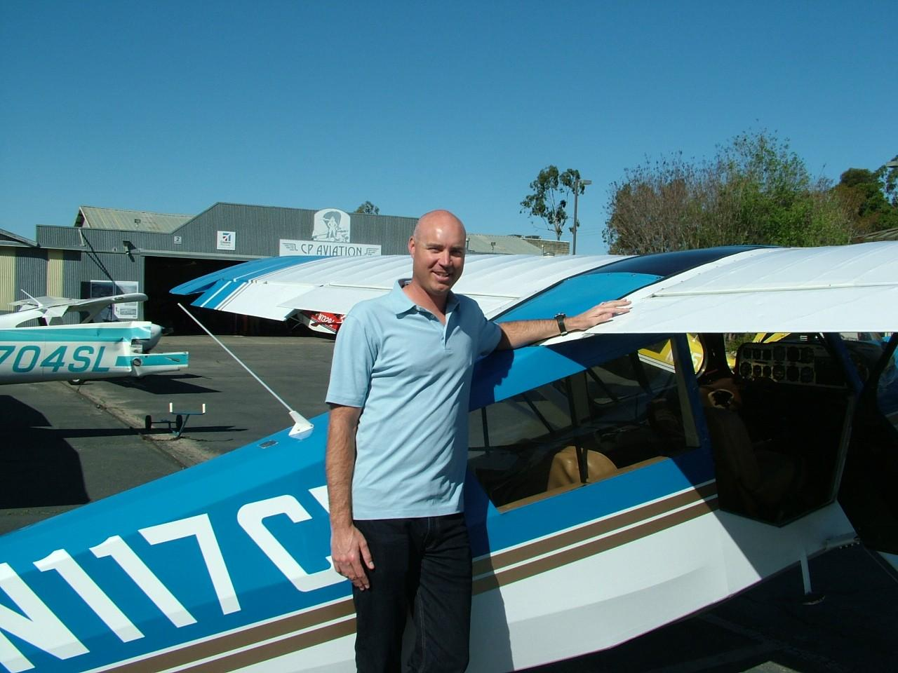 Tailwheel Endorsement - Brian Sandberg