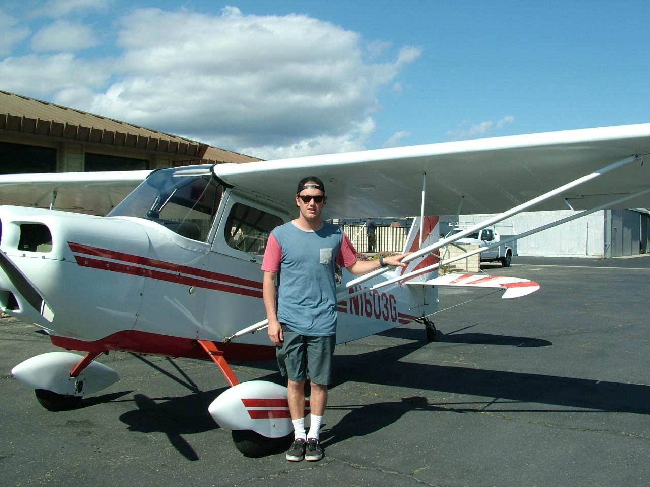 Tailwheel Endorsement - Teddy Lyons