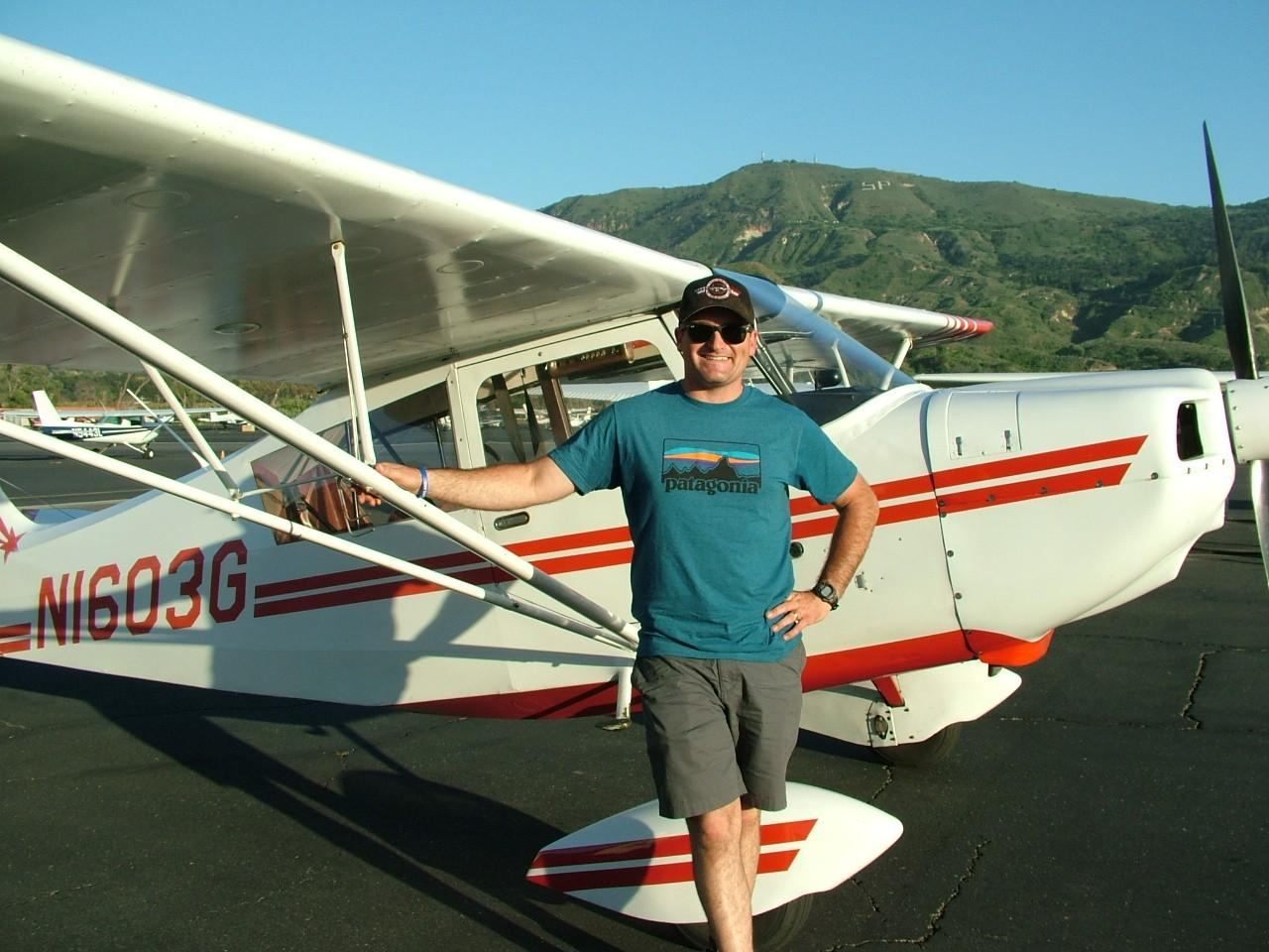 Tailwheel Endorsement - Luke Mitchell