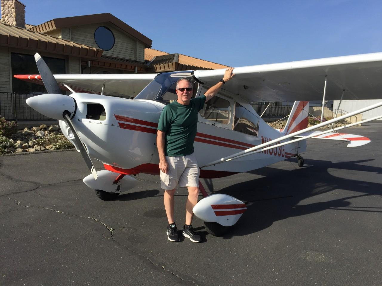 Tailwheel Endorsement - Andy Smith