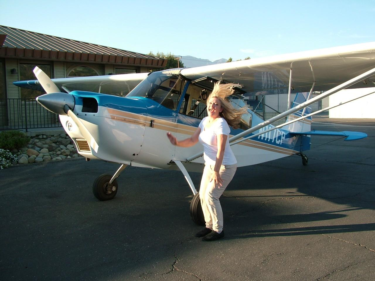 Tailwheel Endorsement - Alison Barker