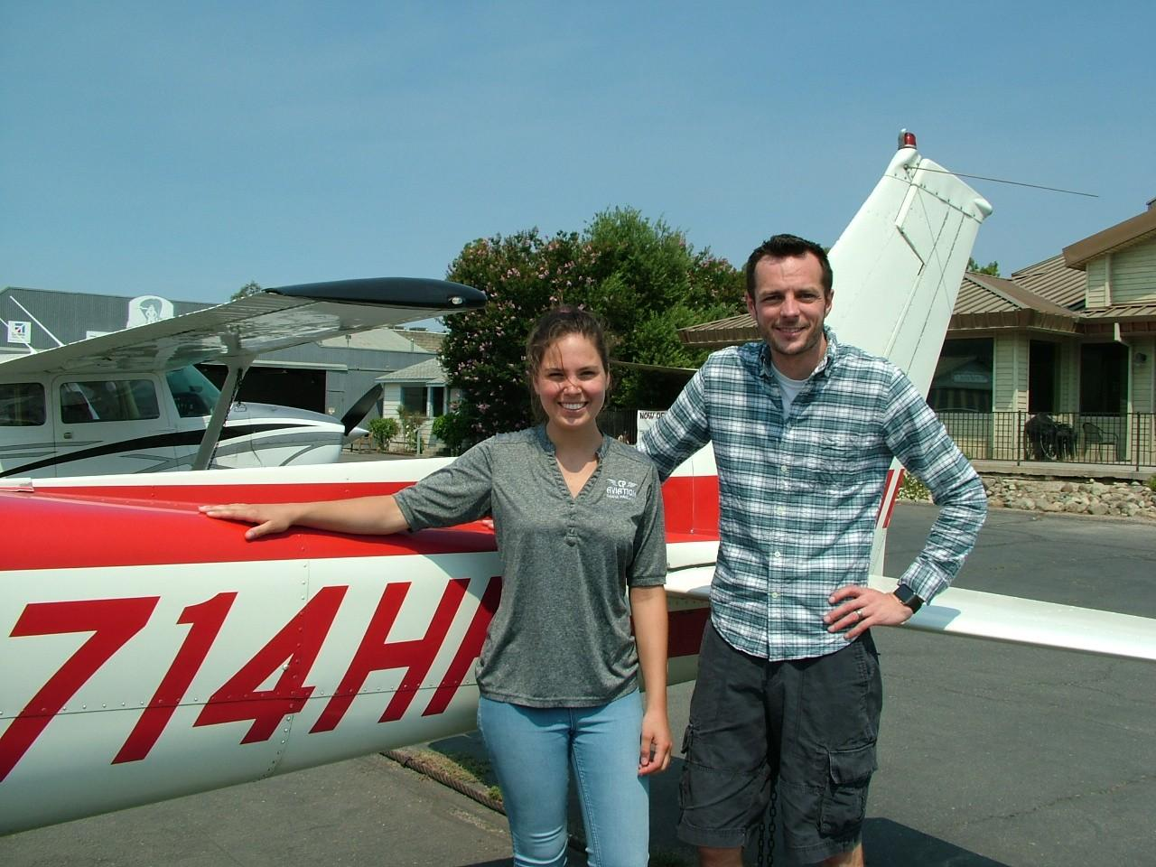 First Solo - Derek Hutchison