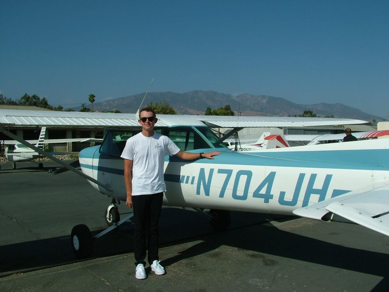 First Solo - Connor Philpott