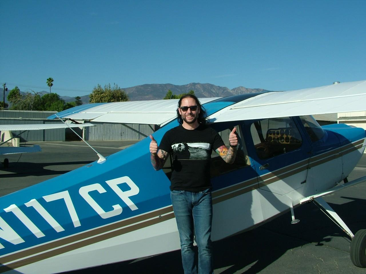 Tailwheel Endorsement - Tyler Sigman