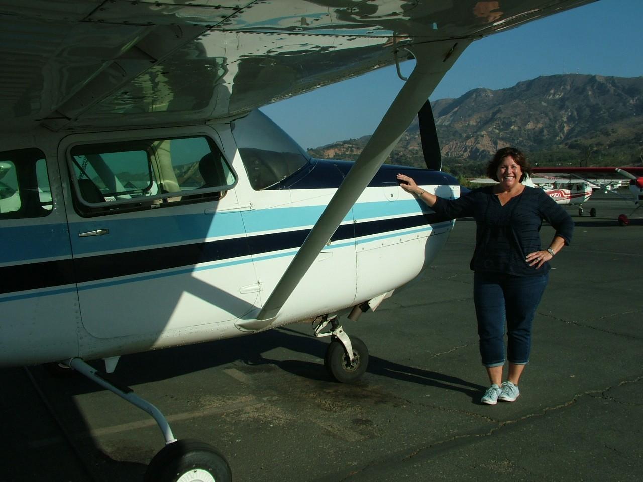 Commercial Pilot - Mignon Gery