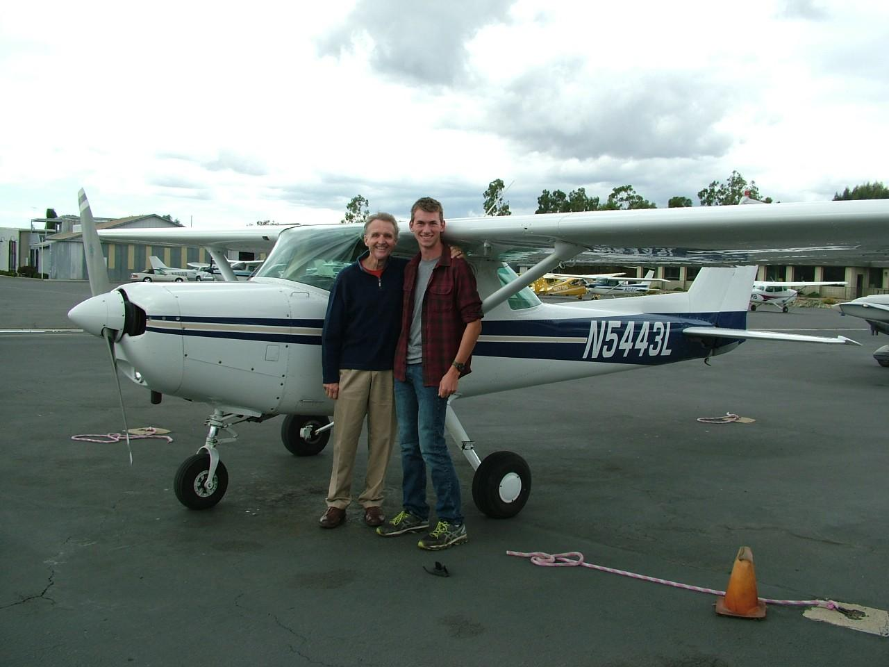 First Solo - Ted Wecker!