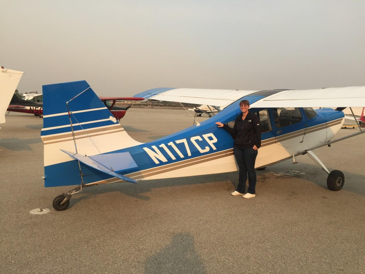 Tailwheel Endorsement - Mariam McMillian