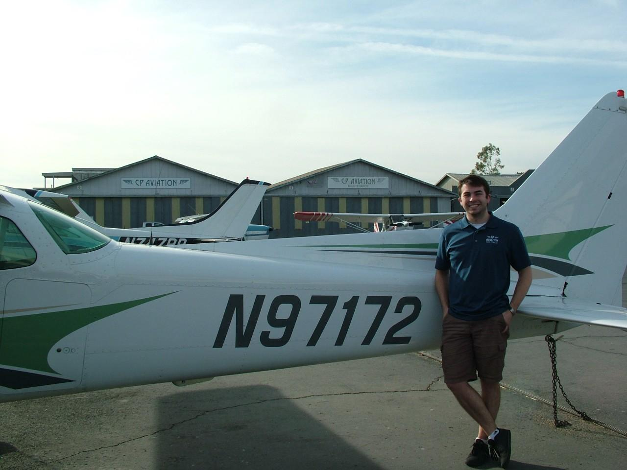Certified Flight Instructor - Instrument, Hunter Worthington