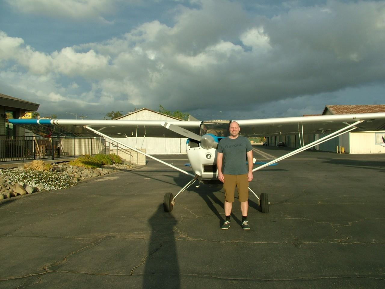 Tailwheel Endorsement - Rudolph Rheinschild