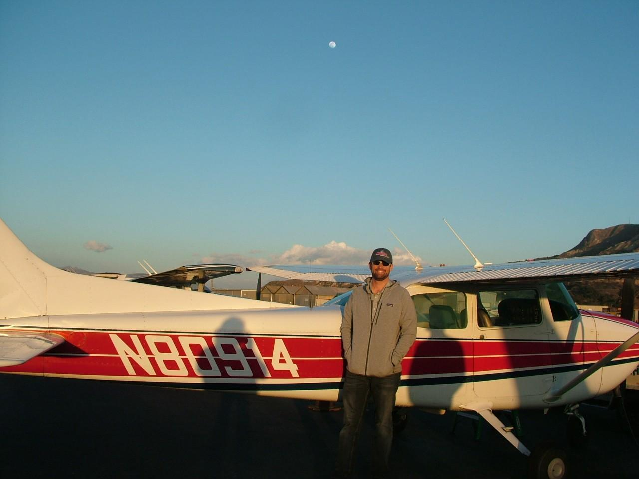 First Solo - Lawrence Parkhill