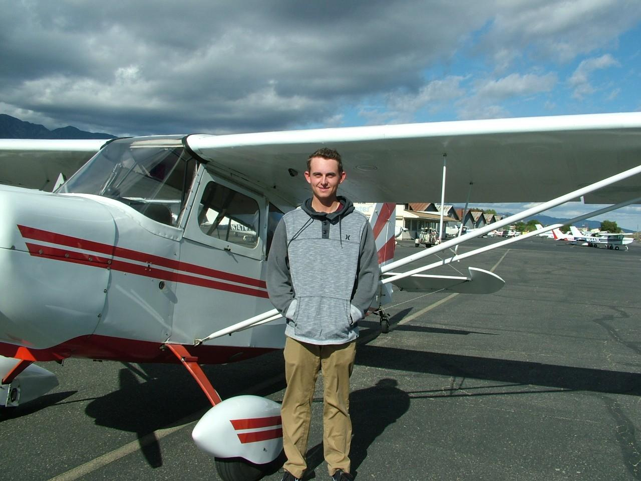 Tailwheel Endorsement - Conner Philpott