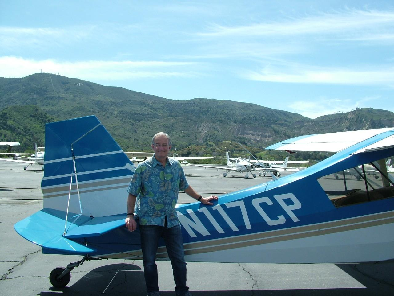 Tailwheel Endorsement - Russ Paris