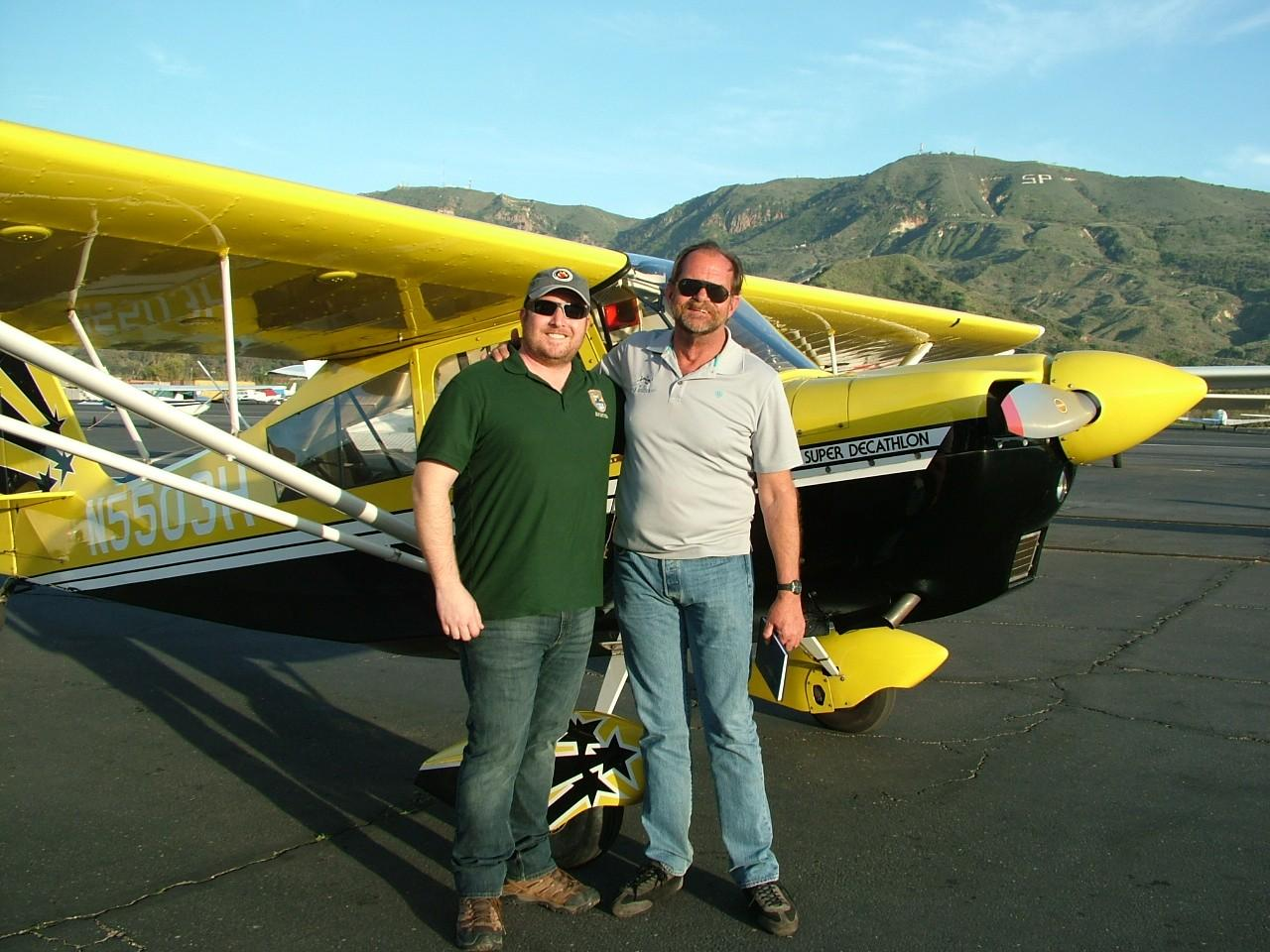 Emergency Maneuver Training & Tailwheel Endorsement - Christopher Greeley