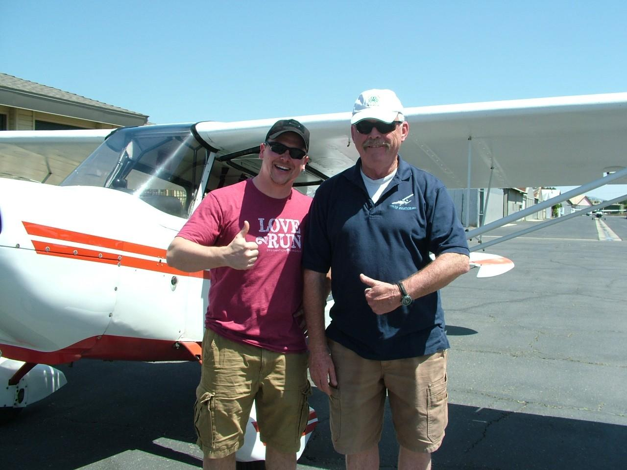 Tailwheel Endorsement - Chris Scheuber