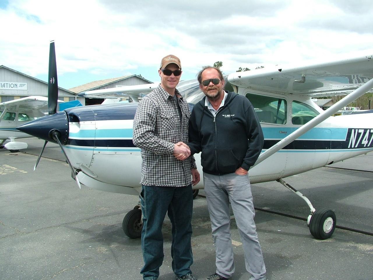 Certified Flight Instructor - Shay Hurd