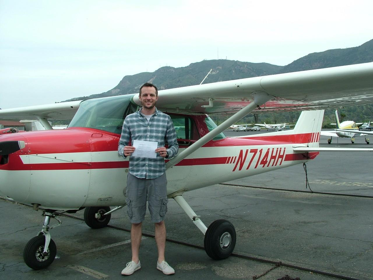 Private Pilot - Derek Hutchison