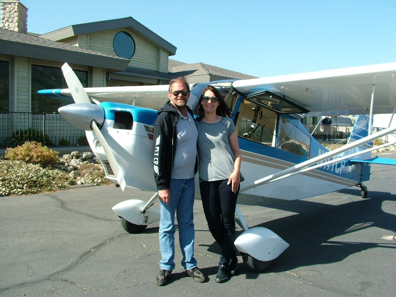 Ines Rosa - Tailwheel Endorsement