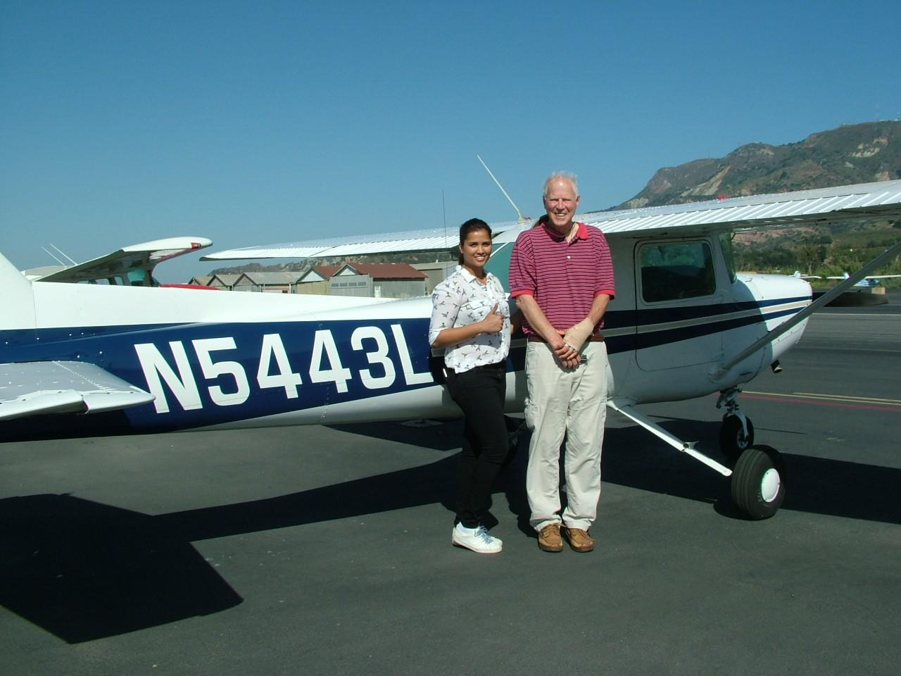 Ruth Charlesworth - Private Pilot