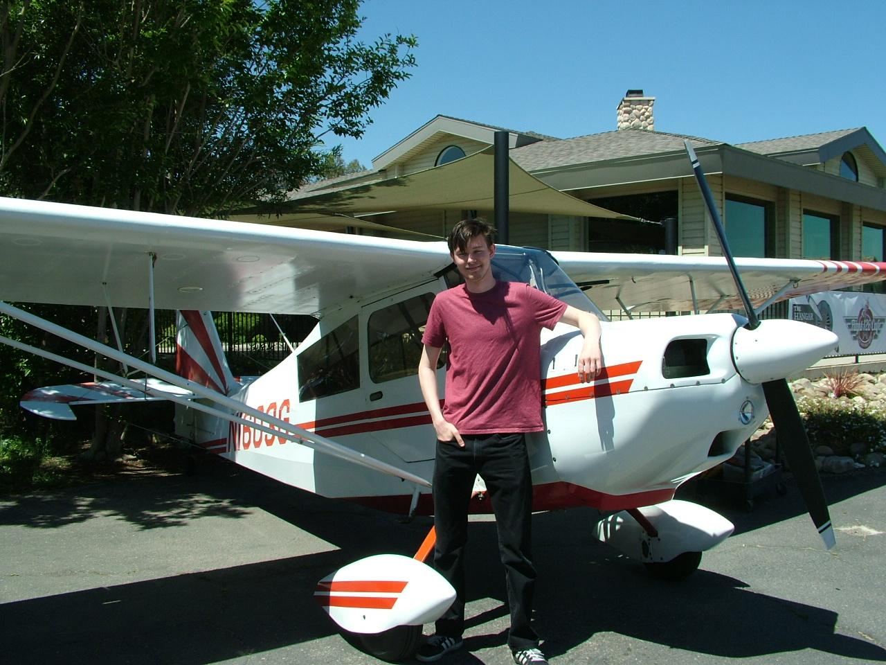 Tailwheel Endorsement - Dean Wayment - Steele