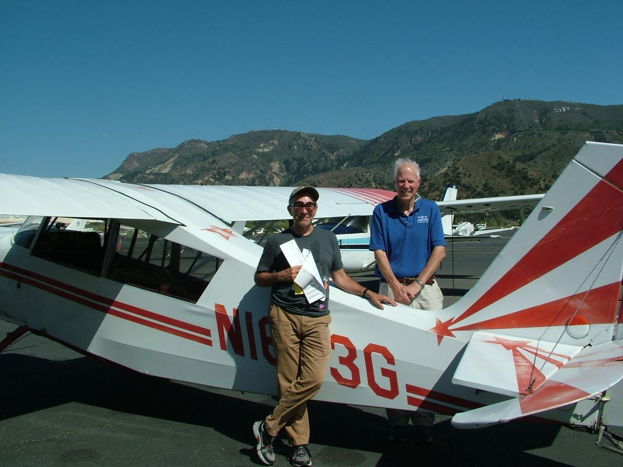 Tailwheel Endorsement - Neal Schleimer