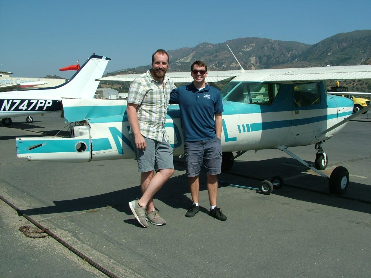 Commercial Pilot - Casey Scholtz