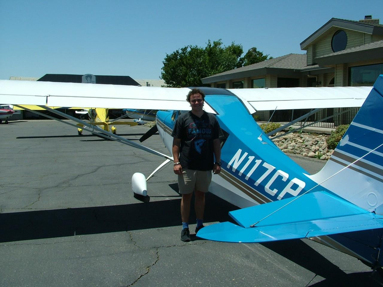 Tailwheel Endorsement - Alex Fitzvohn