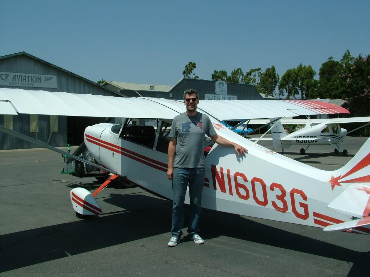 Tailwheel Endorsement - Mon Agranat