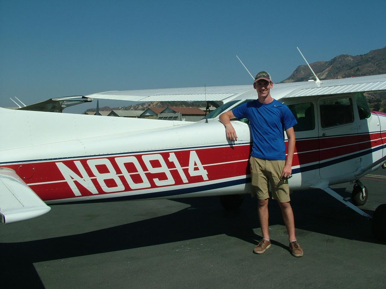 Teddy Wecker - Private Pilot